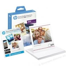 HARTIE PHOTO HP SOCIAL MEDIA SNAPSHOT W2G60A 25 SHEET 10X13