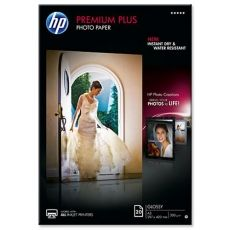 HARTIE CERNEALA HP PREMIUM PLUS GLOSSY PHOTO WHITE 300G A3 20COLI
